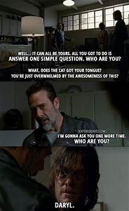 10 Best The Wal... Funny Negan Quotes