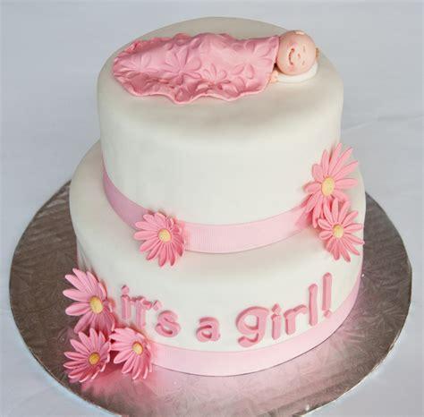 Gâteau shower fille