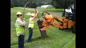 Astec Rt1160 Cable Plow Demo