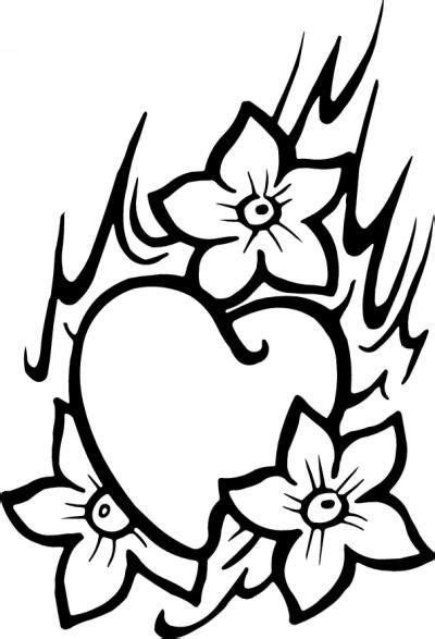 Heart Sticker 116   Stickers   Heart with infinity tattoo, Adult coloring book pages und