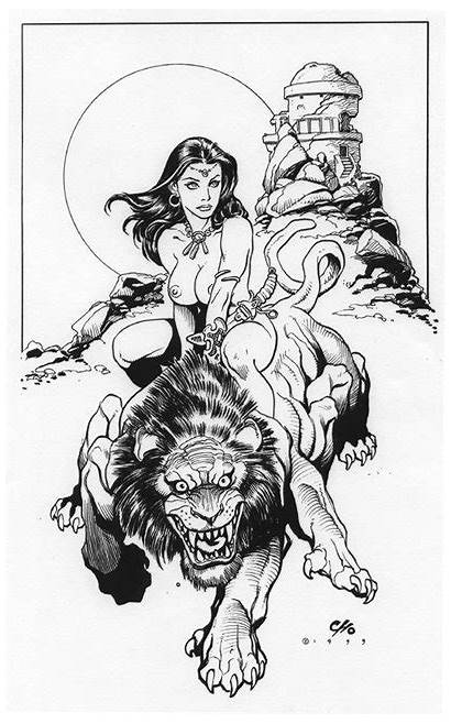 Cho Frank Comic Thoris Dejah Artist Mars