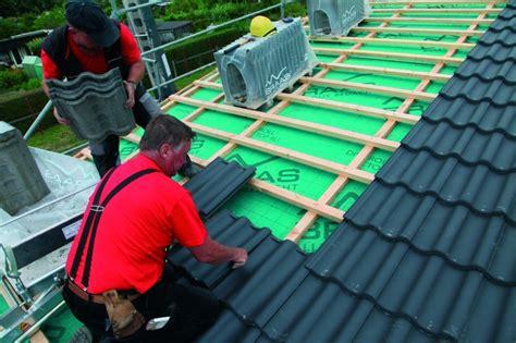dachziegel dachneigung 10 flach gedeckt pfannendeckung f 252 r 10 grad dach bauhandwerk