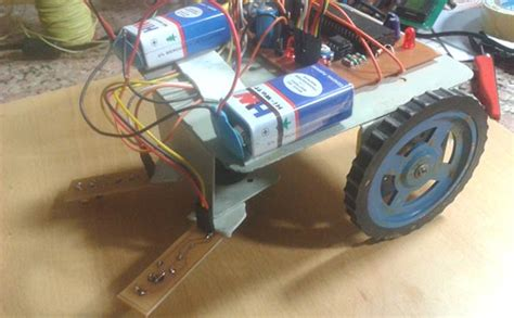 Line Follower Robot Using Microcontroller Project