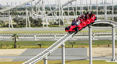 Ferrari world abu dhabi reveals attractions and rides. Top 5 Scariest Roller Coasters in the World | The Royale