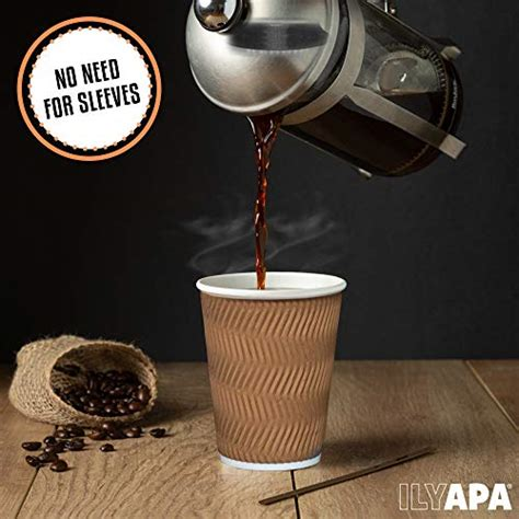 Disposable coffee cups pollute the environment. 12 oz To Go Coffee Cups with Lids - 100 Disposable ...