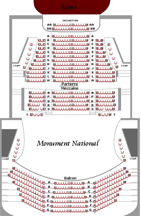 salle ludger duvernay plan de salle spectacle billeterie et calendrier complet spectacle ca