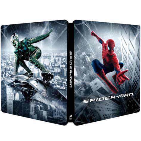 spider man zavvi exclusive lenticular edition steelbook