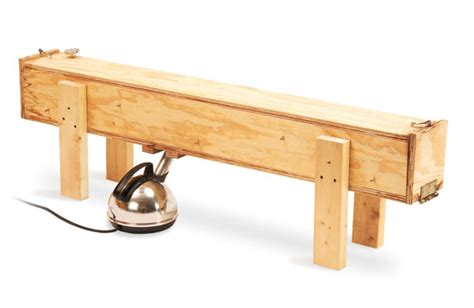 wood steamer simple steam box popular woodworking magazine