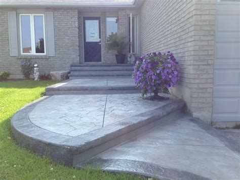 ideas for small bathrooms makeover sted concrete front entrance porch oshawa