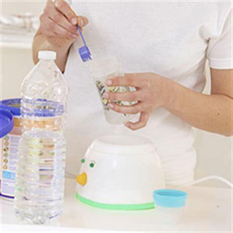 accouchement en siege comment préparer le biberon de bébé