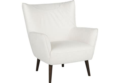white leather accent chair stunning with white leather