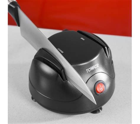 Test Kitchen Electric Knife Sharpener by Buy Tower T19008 Electric Knife Sharpener Free Delivery