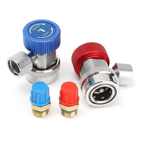 R134a High Low Quick Coupler Connector Adapters Type Ac