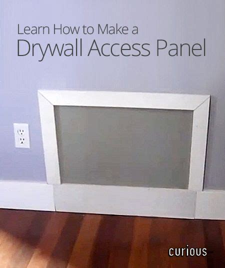 how to make a door in drywall how to make a drywall access panel home diy ideas