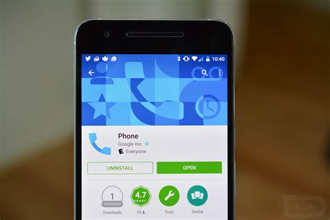phone dialer app s contacts and phone apps arrive on play