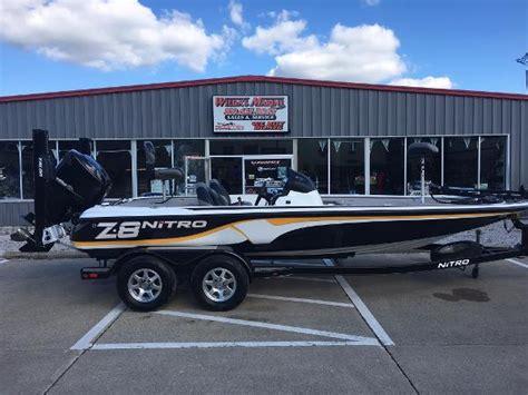 Used Nitro Bass Boats In Kentucky by Nitro Z 8 Boats For Sale In Alexandria Kentucky
