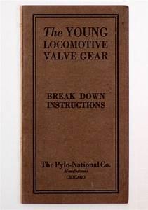 1923 Young Locomotive Valve Gear Manual Break Down
