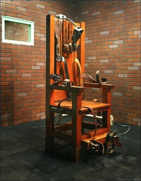 execution chaise electrique penalty august 2012