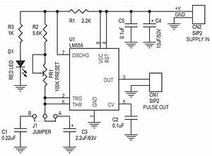 pulse motor generator schematic impremedianet With 555 timer pulse generator schematic
