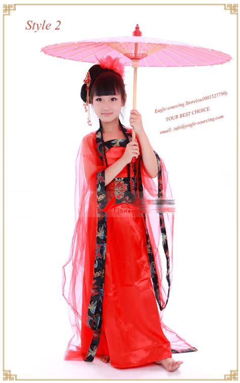 chinese ancient costume dance girls dress clothes chinese fairy dance costumes chinese traditional apparel  kids  chinese folk dance