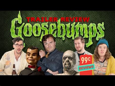 Goosebumps Movie Trailer Review Youtube