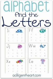 free find the letter printable With buy alphabet letters