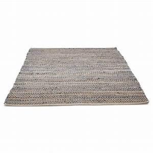 Teppich 230 X 230 : teppich design rechteckig 230 x 160 cm belinda in jeans und hanf blau braun ~ Indierocktalk.com Haus und Dekorationen