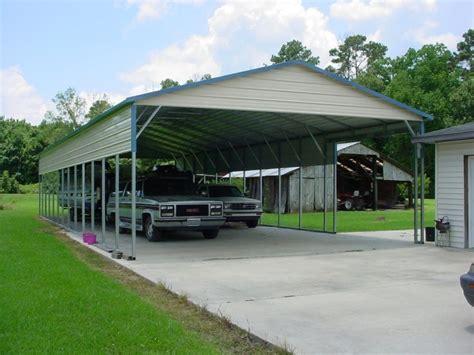 carport vertical roof 24w 61l 10h 2 panels 2 gables