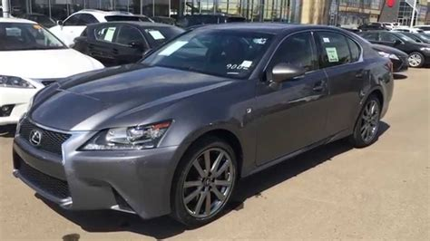 lexus gray 2014 lexus gs 350 awd executive f sport packge review