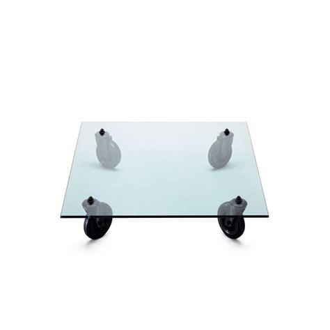 gae aulenti tavolo tavolo con ruote fontanaarte