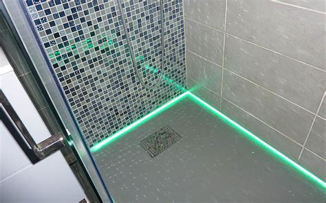 awesome neon salle de bain led contemporary awesome interior home satellite delight us