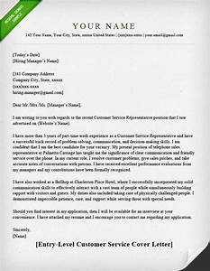 customer service cover letter samples resume genius With how to write a cover letter for customer service representative