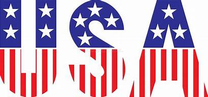 Usa Font Stars Stripes American Patriotic