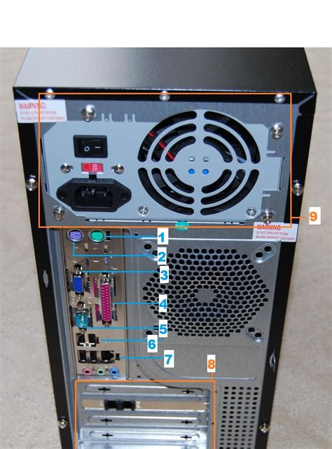 Back Of Pc Diagram by Computer Jedi S Helpful Tips And Thoughts About