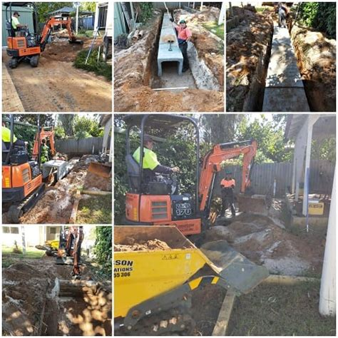 mini bobcat hire mandurah small excavators
