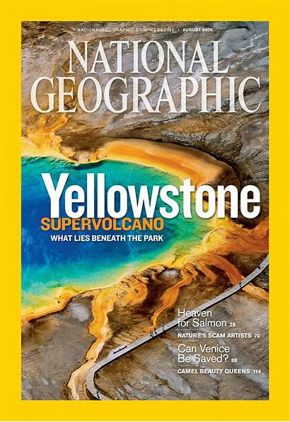 Geographic National Magazine 2009 Yellowstone Covers Grand