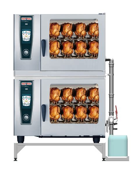 rational cuisine chicken cooking in a rational selfcooking center with