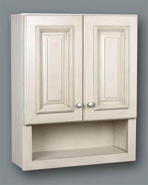 antique white bathroom wall cabinet  shelf  ebay