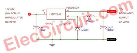Switching Regulator Circuit Using