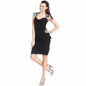 Xscape Xscape Dress Cap--sleeve Sequin-lace Cocktail in ...