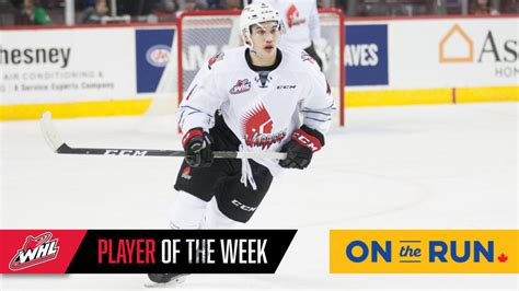 Warriors' Woo named WHL On the Run Player of the Week ...