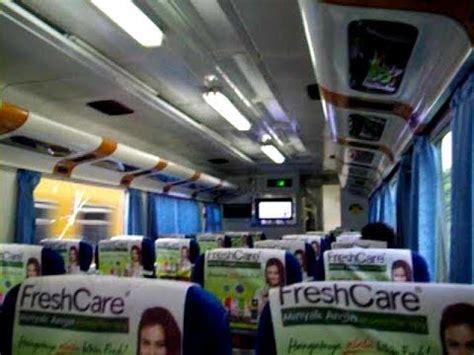 not naik kereta api interior kereta api eksekutif bima surabaya malang pp