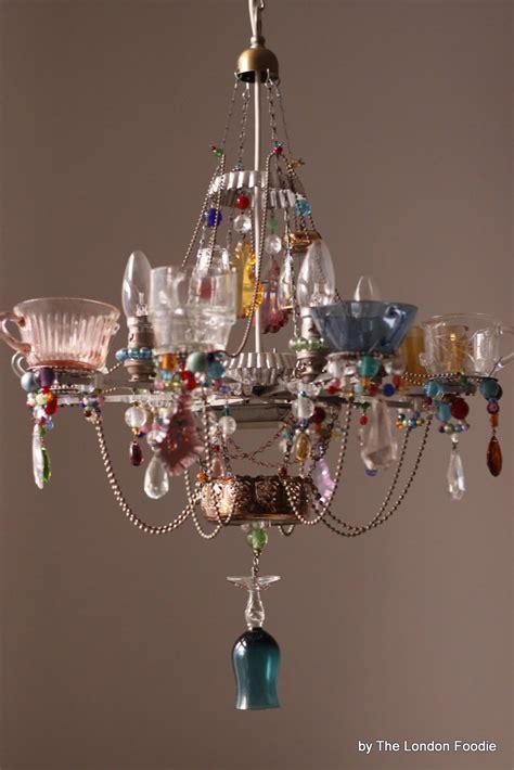 chandelier lighting the foodie the fantastic teacup chandeliers by