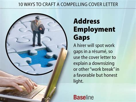 How To Address Gaps In Employment On A Resume by 10 Ways To Craft A Compelling Cover Letter
