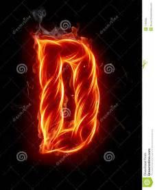 Fire Letter D