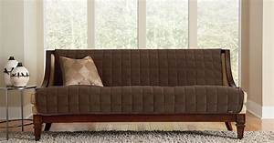 Sure fit slipcovers deluxe armless furniture covers for Armless sectional sofa slipcovers