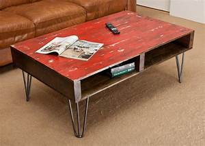 red distressed coffee table coffee table design ideas With red distressed coffee table
