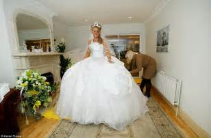 my big wedding the popular channel 4 show returns with most outrageous dress yet - My Big Wedding Dresses