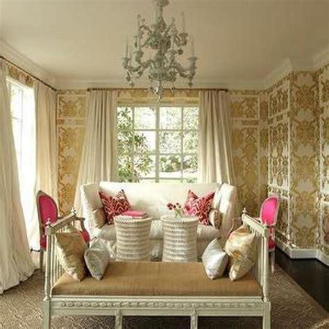 elegant wallpaper  living room gallery