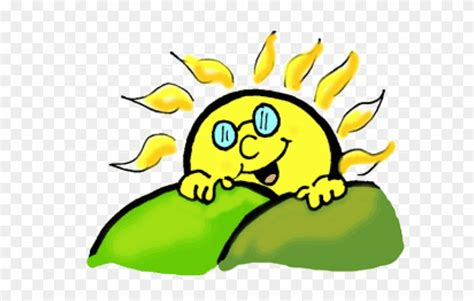 Sun Clipart Clipart Green - Sun Rise Gif Clipart - Png ...